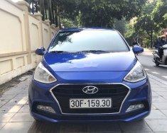 Bán Hyundai Grand i10 1.2AT đời 2018, màu xanh lam, giá chỉ 388 triệu giá 388 triệu tại Hà Nội
