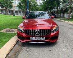 Bán Mercedes C200 2019, màu đỏ, nhập khẩu nguyên chiếc giá 890 triệu tại Tp.HCM