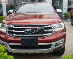 Bán Ford Everest năm sản xuất 2019, màu đỏ, nhập khẩu giá 1 tỷ 300 tr tại Hà Nội