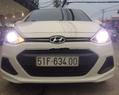 Cần bán lại xe Hyundai Grand i10 sản xuất năm 2015, màu trắng, nhập khẩu như mới giá 290 triệu tại Tp.HCM