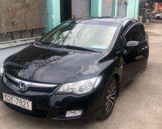 Cần bán Honda Civic năm sản xuất 2008, màu đen, giá 336tr giá 336 triệu tại Đồng Nai
