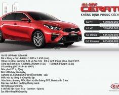 Bán Kia Cerato 2019, hỗ trợ vay 80% xe, khuyến mãi cực hót giá 559 triệu tại Đà Nẵng