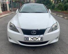 Cần bán Lexus IS 250 năm sản xuất 2008, màu trắng, nhập khẩu số tự động giá 760 triệu tại Hà Nội