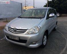 Cần bán lại xe Toyota Innova G đời 2009, màu bạc giá 360 triệu tại Long An