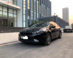 Bán Kia Cerato 1.6 MT đời 2017, màu đen, số sàn giá 495 triệu tại Hà Nội