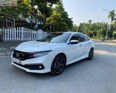Cần bán lại xe Honda Civic RS 1.5 AT sản xuất năm 2019, màu trắng, xe nhập như mới giá 922 triệu tại Tp.HCM
