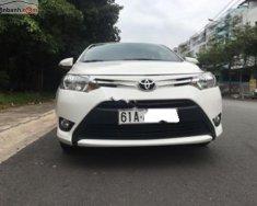 Bán Toyota Vios 1.5E CVT năm 2017, màu trắng, 468 triệu giá 468 triệu tại Bình Dương