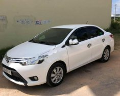 Cần bán lại xe Toyota Vios E MT sản xuất năm 2017, màu trắng xe gia đình, 418tr giá 418 triệu tại Kon Tum