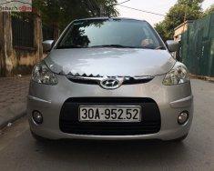 Bán Hyundai Grand i10 2009, màu bạc, xe nhập số sàn, giá chỉ 165 triệu giá 165 triệu tại Hà Nội