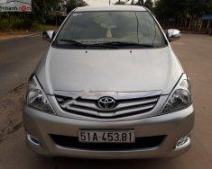 Bán ô tô Toyota Innova sản xuất 2010, màu bạc xe nguyên bản giá 365 triệu tại Tp.HCM