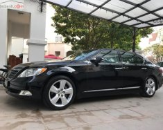 Cần bán Lexus LS 460L năm sản xuất 2007, màu đen, nhập khẩu nguyên chiếc giá 1 tỷ 120 tr tại Thái Nguyên