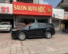 Bán xe Toyota Highlander sản xuất 2014, màu đen, xe nhập chính hãng giá 1 tỷ 485 tr tại Hà Nội