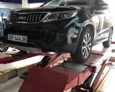 Cần bán xe cũ Kia Sorento đời 2014, màu đen giá 715 triệu tại Hà Nội