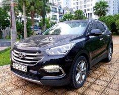 Cần bán gấp Hyundai Santa Fe 2.4L 4WD năm 2016, màu đen, giá 895tr giá 895 triệu tại Hà Nội