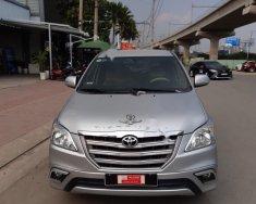 Bán Toyota Innova sản xuất năm 2015, màu bạc, số sàn giá 580 triệu tại Tp.HCM