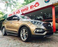 Cần bán lại xe Hyundai Santa Fe 2.2L 4WD đời 2016, màu nâu giá 995 triệu tại Hà Nội