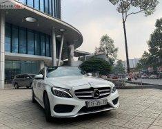 Cần bán lại xe Mercedes C250 AMG sản xuất 2015, màu trắng, xe nhập giá 1 tỷ 190 tr tại Tp.HCM