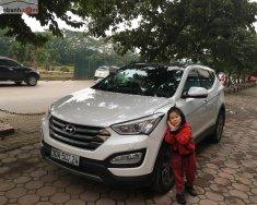 Bán Hyundai Santa Fe 2.4L 4WD năm sản xuất 2014, màu trắng  giá 825 triệu tại Hà Nội