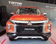 Cần bán xe Mitsubishi Triton All New 4x2 AT đời 2019, màu cam, nhập khẩu nguyên chiếc giá 730 triệu tại Tp.HCM