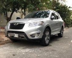 Bán ô tô Hyundai Santa Fe 2.0L đời 2011, màu bạc, nhập khẩu, 670 triệu giá 670 triệu tại Tp.HCM