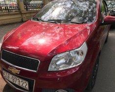 Cần bán lại xe Chevrolet Aveo đời 2016, màu đỏ số tự động xe còn mới nguyên giá 320 triệu tại Tp.HCM