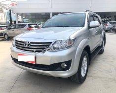 Cần bán gấp Toyota Fortuner 2.7V 4X2 AT năm 2013, màu bạc  giá 660 triệu tại Tp.HCM