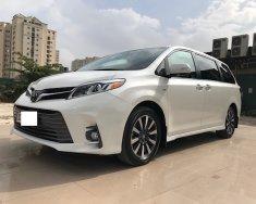 Bán Toyota Sienna Limited Trắng nội thất Nâu da bò xe sản xuất 2018 đăng ký tháng 12.2018 tên cty biển hà nội siêu mới giá 3 tỷ 720 tr tại Hà Nội