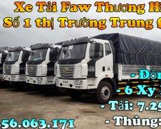 Xe tải 8 tấn - Xe tải Faw thùng bạt 9 mét 7 siêu dài  giá 310 triệu tại Tp.HCM