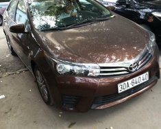 Bán xe ô tô Toyota Corolla Altis 1.8G MT (số sàn), sx năm 2015, màu nâu- Quận Ba Đình, Hà Nội giá 500 triệu tại Hà Nội