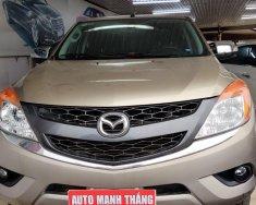 Cần bán xe Mazda BT 50 3.2L AT 2015, màu vàng cát giá 520 triệu tại Hà Nội