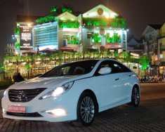Cần bán xe Hyundai Sonata 2013, màu trắng, nhập khẩu nguyên chiếc giá 589 triệu tại Hà Nội