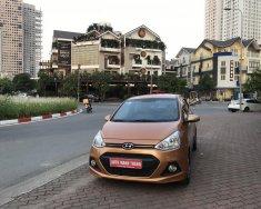 Bán Hyundai Grand i10 AT 2015, màu nâu giá 325 triệu tại Hà Nội