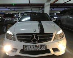 Cần bán gấp Mercedes C class sản xuất 2008, màu trắng giá 390 triệu tại Tp.HCM