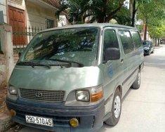 Xe Toyota Hiace sản xuất 2003, màu xanh lam giá 95 triệu tại Hà Nội