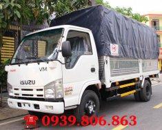 Xe tải Isuzu VM 3.49 tấn (3.5 tấn) thùng 4.3m, trả trước 100 triệu nhận xe giá 520 triệu tại Tp.HCM