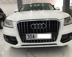 Audi Q5 màu trắng xe sản xuất 2013 đăng ký 2014 tư nhân một chủ từ đầu giá 950 triệu tại Hà Nội