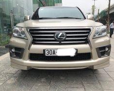 Cần bán xe Lexus LX 570 2015, màu vàng giá 4 tỷ 700 tr tại Hà Nội