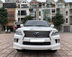 Bán Lexus LX570 năm 2014, màu trắng, nhập khẩu nguyên chiếc chính chủ giá 4 tỷ 300 tr tại Hà Nội