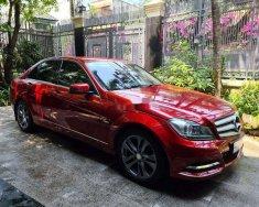 Xe Mercedes C200 sản xuất 2012, màu đỏ ít sử dụng giá cạnh tranh giá 585 triệu tại Tp.HCM