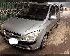 Cần bán lại xe Hyundai Getz đời 2008, màu bạc, nhập khẩu nguyên chiếc giá 148 triệu tại Bắc Giang