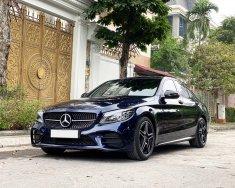 Bán Mercedes C300 AMG đời 2019, màu xanh lam, chính chủ giá 1 tỷ 799 tr tại Hà Nội