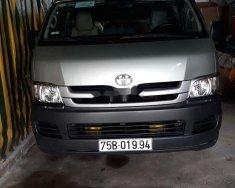 Bán ô tô Toyota Hiace đời 2009, xe cũ, máy dầu giá 318 triệu tại Tp.HCM