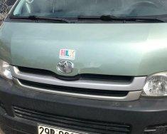 Cần bán lại xe Toyota Hiace 2009, màu xanh lam giá 195 triệu tại Hà Nội