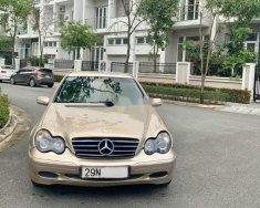 Cần bán Mercedes C200 đời 2002, màu ghi vàng xe gia đình giá 158 triệu tại Hà Nội