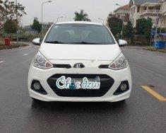 Cần bán Hyundai Grand i10 năm sản xuất 2014, màu trắng, nhập khẩu nguyên chiếc  giá Giá thỏa thuận tại Hải Dương