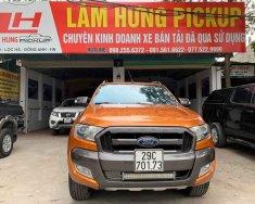 Bán ô tô Ford Ranger Wildtrak đời 2015, màu cam cá tính, nhập khẩu giá 669 triệu tại Hà Nội