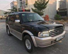 Cần bán xe Ford Everest MT sản xuất năm 2005, màu đen số sàn giá cạnh tranh giá 195 triệu tại Bình Dương