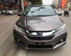 Cần bán xe Honda City 1.5AT sản xuất năm 2016, màu nâu giá 460 triệu tại Hà Nội