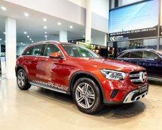 Bán lại Mercedes GLC 200 đời 2020, màu đỏ, xe siêu lướt giá 1 tỷ 745 tr tại Hà Nội