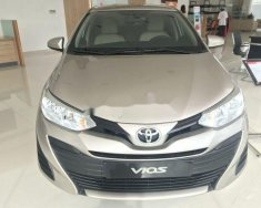 Cần bán xe Toyota Vios E sản xuất 2017, màu vàng như mới giá 480 triệu tại Hà Nội
